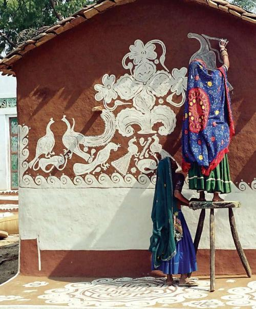 Coming Up soon; Meena Women and their wall art